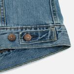 Мужская джинсовая куртка Levi's Trucker Icy фото- 6