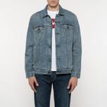 Мужская джинсовая куртка Levi's Trucker Icy фото- 7