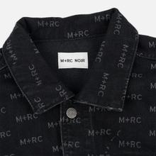 Мужская джинсовая куртка M+RC Noir Hate Denim 14.0 Oz Black фото- 2
