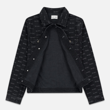 Мужская джинсовая куртка M+RC Noir Hate Denim 14.0 Oz Black фото- 1
