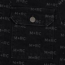 Мужская джинсовая куртка M+RC Noir Hate Denim 14.0 Oz Black фото- 3