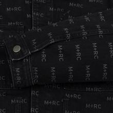 Мужская джинсовая куртка M+RC Noir Hate Denim 14.0 Oz Black фото- 4