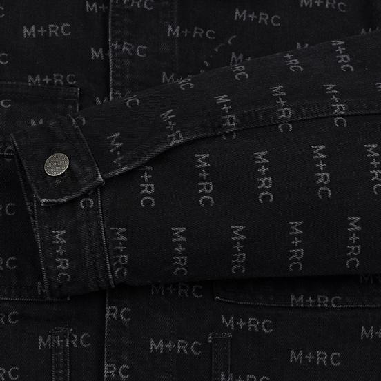 Мужская джинсовая куртка M+RC Noir Hate Denim 14.0 Oz Black