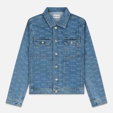 Мужская джинсовая куртка M+RC Noir Hate Denim 14.0 Oz Blue фото- 0