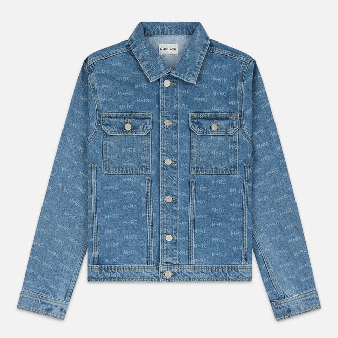 Мужская джинсовая куртка M+RC Noir Hate Denim 14.0 Oz Blue
