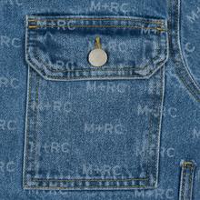 Мужская джинсовая куртка M+RC Noir Hate Denim 14.0 Oz Blue фото- 3