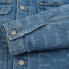 Мужская джинсовая куртка M+RC Noir Hate Denim 14.0 Oz Blue фото- 4