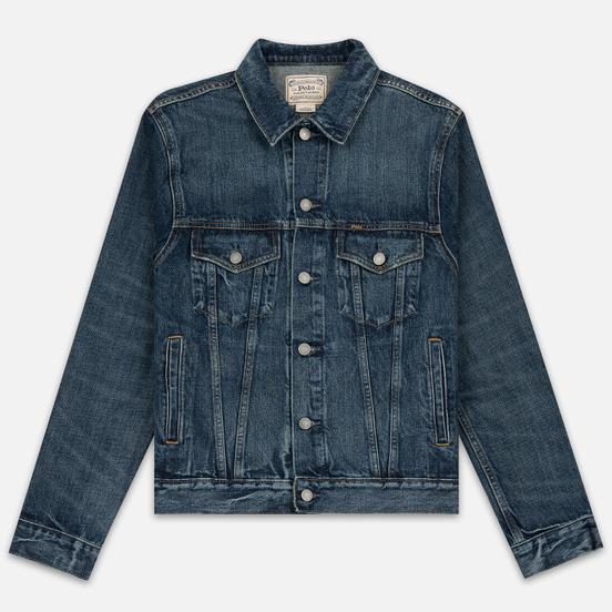 Мужская джинсовая куртка Polo Ralph Lauren Icon Trucker Denim Trenton