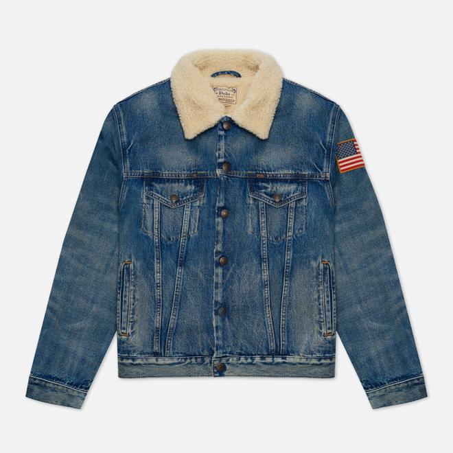 Мужская джинсовая куртка Polo Ralph Lauren RL Icon Trucker Denim Keighton