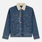 Мужская джинсовая куртка Tommy Jeans Flag Sherpa Denim Mid Blue фото - 0