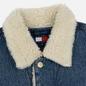 Мужская джинсовая куртка Tommy Jeans Flag Sherpa Denim Mid Blue фото - 2