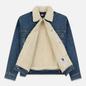 Мужская джинсовая куртка Tommy Jeans Flag Sherpa Denim Mid Blue фото - 1