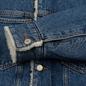 Мужская джинсовая куртка Tommy Jeans Flag Sherpa Denim Mid Blue фото - 4