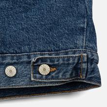 Мужская джинсовая куртка Tommy Jeans Flag Sherpa Denim Mid Blue фото- 5