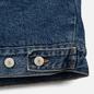 Мужская джинсовая куртка Tommy Jeans Flag Sherpa Denim Mid Blue фото - 5