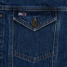 Мужская джинсовая куртка Tommy Jeans Regular Denim Alan Mid Blue Rig фото- 3