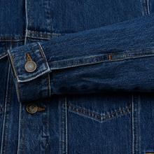 Мужская джинсовая куртка Tommy Jeans Regular Denim Alan Mid Blue Rig фото- 4