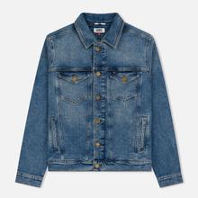 Мужская джинсовая куртка Tommy Jeans Regular Trucker Dallas Mid Blue Com фото- 0