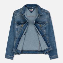 Мужская джинсовая куртка Tommy Jeans Regular Trucker Dallas Mid Blue Com фото- 1