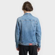 Мужская джинсовая куртка Tommy Jeans Regular Trucker Dallas Mid Blue Com фото- 4