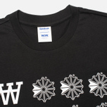 Reebok x Wood Wood GR Men's T-shirt Black/White photo- 1
