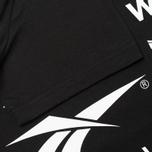 Reebok x Wood Wood GR Men's T-shirt Black/White photo- 3