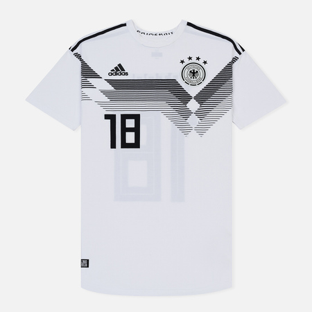Мужская футболка adidas Football DFB Home Jersey 18 White