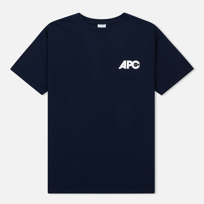 Мужская футболка A.P.C. Burnette Dark Navy