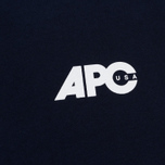 Мужская футболка A.P.C. Burnette Dark Navy фото- 2
