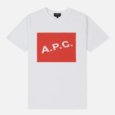 Мужская футболка A.P.C. Kraft Red