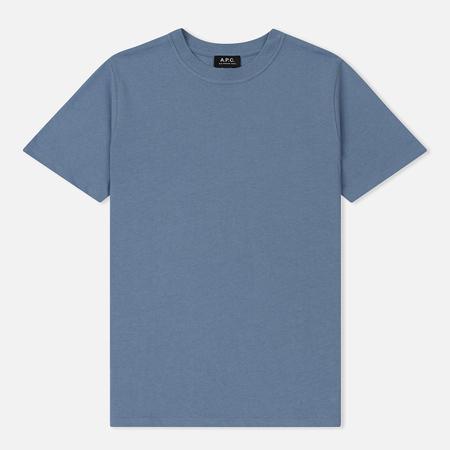 Мужская футболка A.P.C. Pack Blue