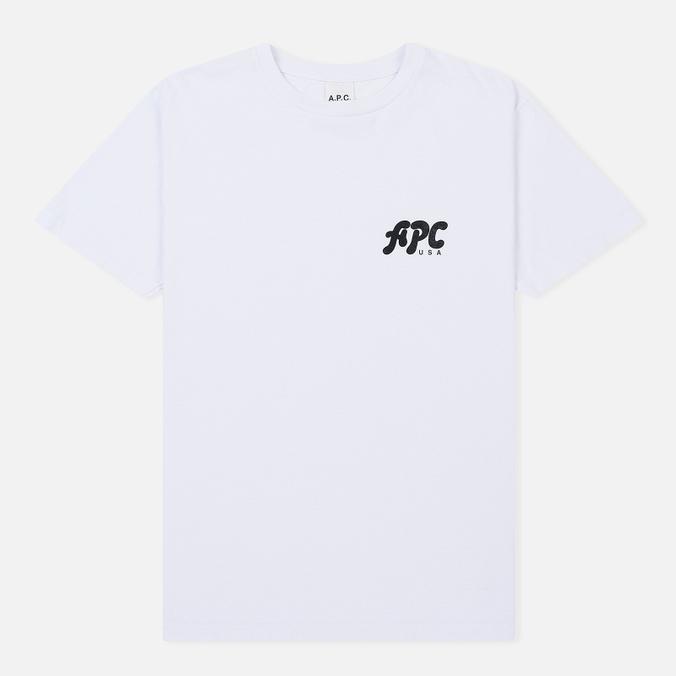 Мужская футболка A.P.C. Richie White