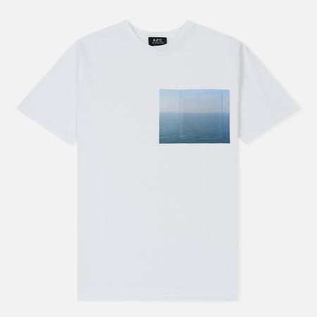 Мужская футболка A.P.C. Seaview White