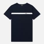 Мужская футболка A.P.C. Yukata Dark Navy фото- 0