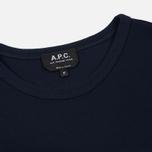 Мужская футболка A.P.C. Yukata Dark Navy фото- 1