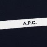 Мужская футболка A.P.C. Yukata Dark Navy фото- 2