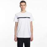 Мужская футболка A.P.C. Yukata White/Red фото- 3