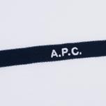 Мужская футболка A.P.C. Yukata White/Blue фото- 2