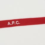 Мужская футболка A.P.C. Yukata White/Red фото- 2