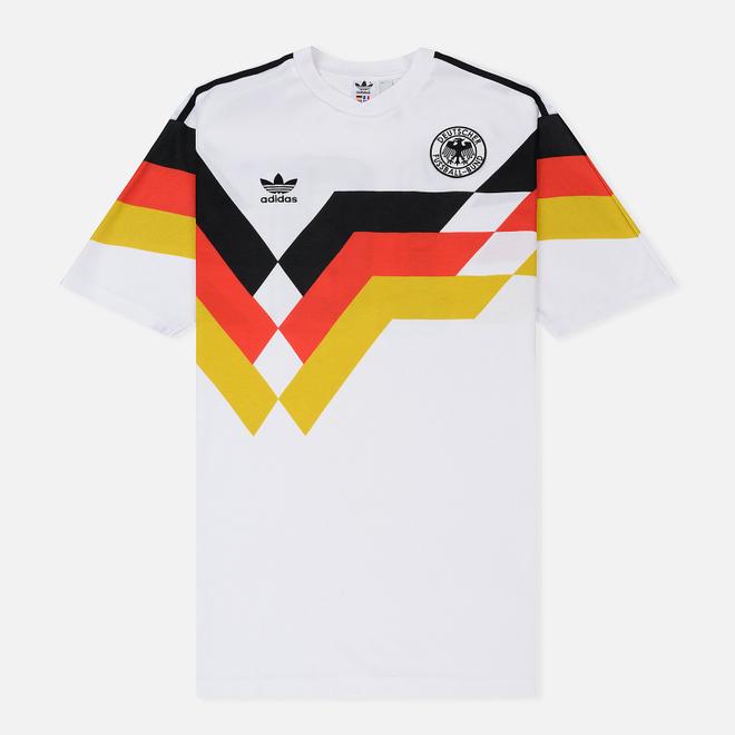 Мужская футболка adidas Football Germany Jersey White
