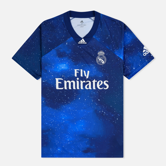 Мужская футболка adidas Football x EA Sports Real Madrid Jersey Unity Ink/White