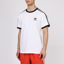 Мужская футболка adidas Originals 3-Stripe White фото- 2