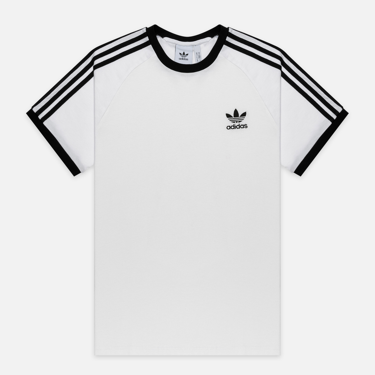 Мужская футболка adidas Originals 3-Stripe White
