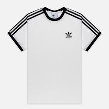 Мужская футболка adidas Originals 3-Stripe White фото- 0