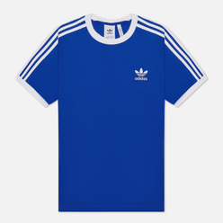 Мужская футболка adidas Originals 3-Stripes Royal Blue
