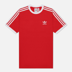Мужская футболка adidas Originals 3-Stripes Scarlet