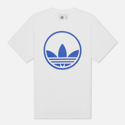 Мужская футболка adidas Originals Circle Trefoil White