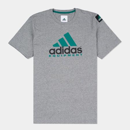 Мужская футболка adidas Originals EQT Logo Grey