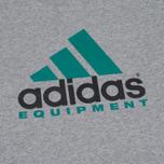 Мужская футболка adidas Originals EQT Logo Grey фото- 2