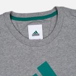 Мужская футболка adidas Originals EQT Logo Grey фото- 1